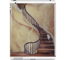 Cat on the Stairs iPad Case/Skin