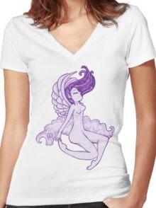 virgo Women's Fitted V-Neck T-Shirt