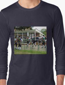 Leaping High - Morris Dancers Long Sleeve T-Shirt