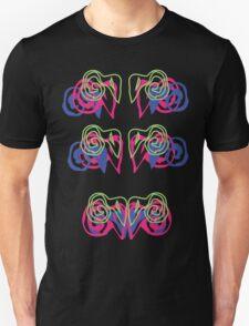 Psychedelic Graffiti Ram - progression T-Shirt
