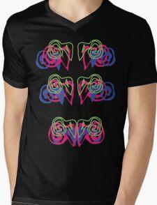 Psychedelic Graffiti Ram - progression Mens V-Neck T-Shirt
