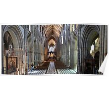 Worcester Cathedral Panorama Poster