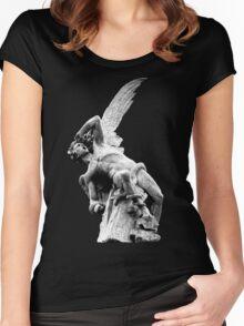 FALLEN ANGEL Women's Fitted Scoop T-Shirt