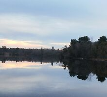 Oswegatchie River by linmarie