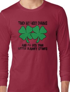 Touch My Lucky Charms Long Sleeve T-Shirt