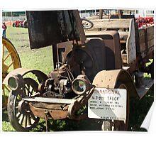 1916 International Truck Poster
