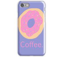 Coffee. iPhone Case/Skin