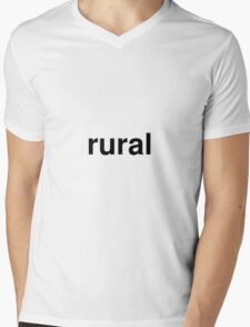 rural Mens V-Neck T-Shirt