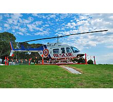 Rescue Chopper Photographic Print
