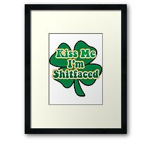 Kiss Me I'm Irish Framed Print