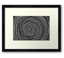 Vector Storm Framed Print