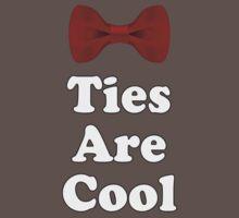 Cool Baby Onesie PJ Jumpsuit - Bow Ties - T-Shirt Greeting Card One Piece - Short Sleeve
