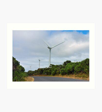 Wind Farm Art Print