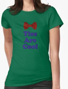Who Says - Bow Ties Are Cool - Doctor Orders T-Shirt Sticker Womens Fitted T-Shirt