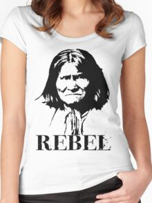 REBEL Women's Fitted Scoop T-Shirt