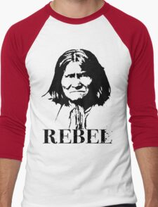 REBEL Men's Baseball ¾ T-Shirt