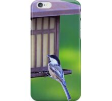 His Eye Is On The Sparrow iPhone Case/Skin