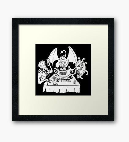 Boardrooms & Bosses Framed Print