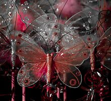 """""""A Little Bit of Red"""" - Butterflies by Sophie Lapsley"""