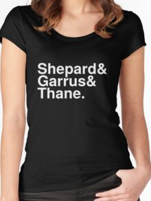 Mass Effect Names - 5 Women's Fitted Scoop T-Shirt