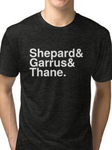 Mass Effect Names - 5 Tri-blend T-Shirt
