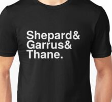 Mass Effect Names - 5 Unisex T-Shirt