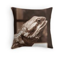 Jaw dropping Throw Pillow