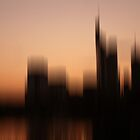 Frankfurt Skyline by Marlies Odehnal