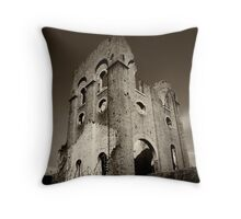 Lithgow blast furnace ruins Throw Pillow