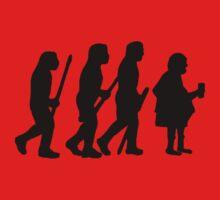 evolution of modern man One Piece - Long Sleeve