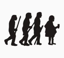evolution of modern man One Piece - Short Sleeve