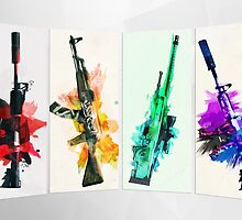 CS:GO colorful weapons vol.2 HQ by Dhaxina