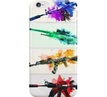 CS:GO colorful weapons vol.2 HQ iPhone Case/Skin