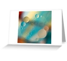 Oil and Water ~ Pastel Greeting Card