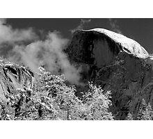 Half Dome in Snow Photographic Print