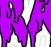 trap - purple Sticker