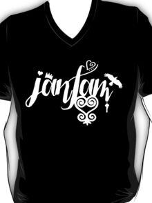 JamFam - Fans & Friends Logo 2015 - White T-Shirt