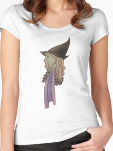 Elphaba, the Wicked Witch Women's Fitted Scoop T-Shirt
