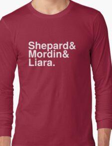 Mass Effect Names - 7 Long Sleeve T-Shirt