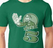 Abraham Lincoln High Five Unisex T-Shirt