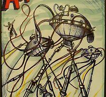 Amazing Stories ( August 1933 ) by John Dicandia  ( JinnDoW )