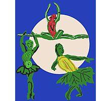The Three Sister's Harvest Dance Photographic Print