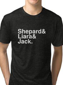 Mass Effect Names - 8 Tri-blend T-Shirt