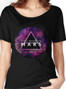 30 Seconds to Mars: Galaxy Design Women's Relaxed Fit T-Shirt