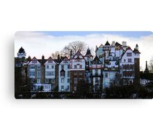 Ramsay Gardens at dusk, Edinburgh Canvas Print