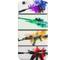 CS:GO colorful weapons (B) vol.2 HQ iPhone Case/Skin