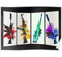 CS:GO colorful weapons (B) vol.2 HQ Poster