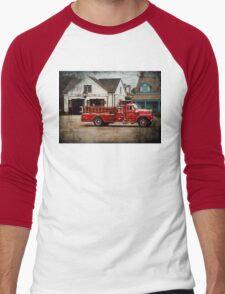 Fireman - Newark fire company Men's Baseball ¾ T-Shirt