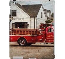 Fireman - Newark fire company iPad Case/Skin