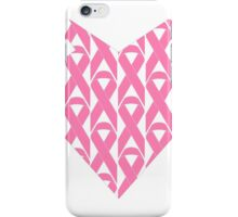 Breast Cancer Love n Support iPhone Case/Skin